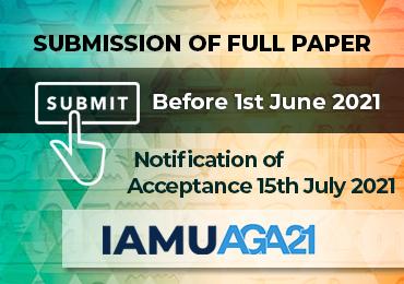 Submission of Full Paper Manuscript to IAMUC AGA21