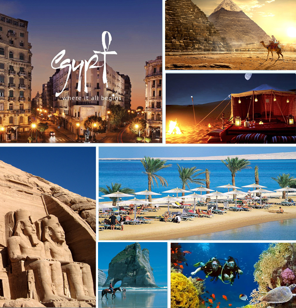 egypt cities